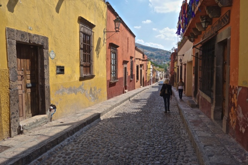 Cobblestone and Color