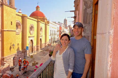 Jeff and Eileen inQueretaro