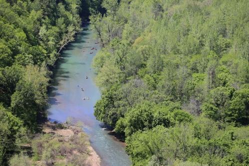 Canoe traffic